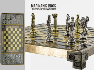 Marinakis Bros, szachy - Athena Chess Set