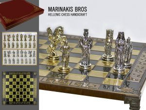 Marinakis Bros, szachy - Alexander Chess Set