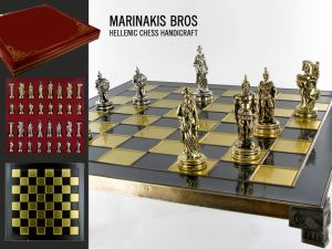 Marinakis Bros, szachy - Trojan War Chess Set