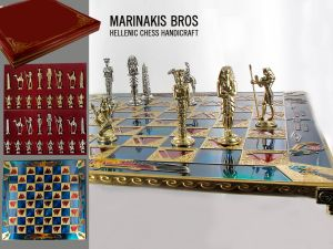 Marinakis Bros, szachy - Egyptian Chess Set